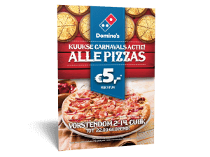 Flyer A5 Domino's